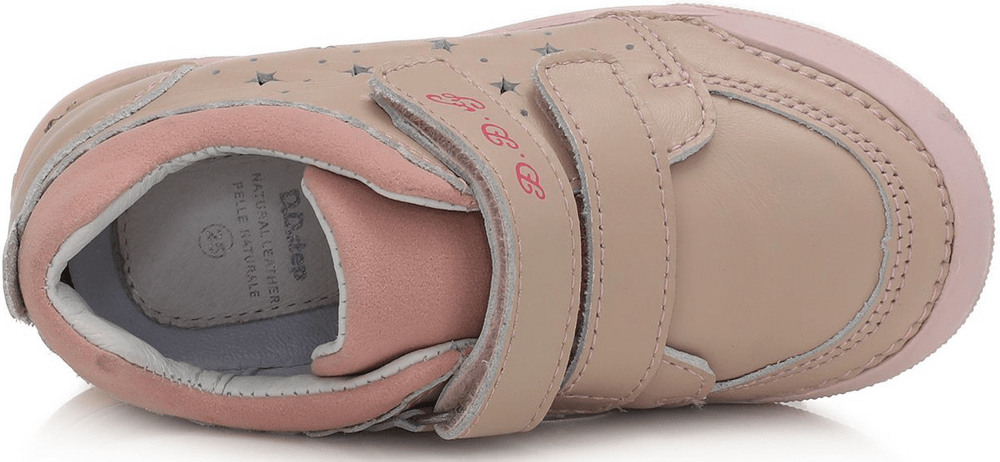 D-D-step dívčí svítící obuv 068-937A 27 růžová