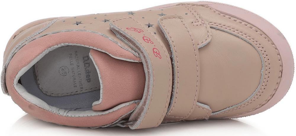 D-D-step dívčí svítící obuv 068-937A 28 růžová
