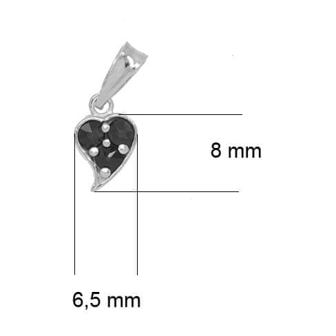 Granát, Turnov  - stříbrný přívěsek 64700466