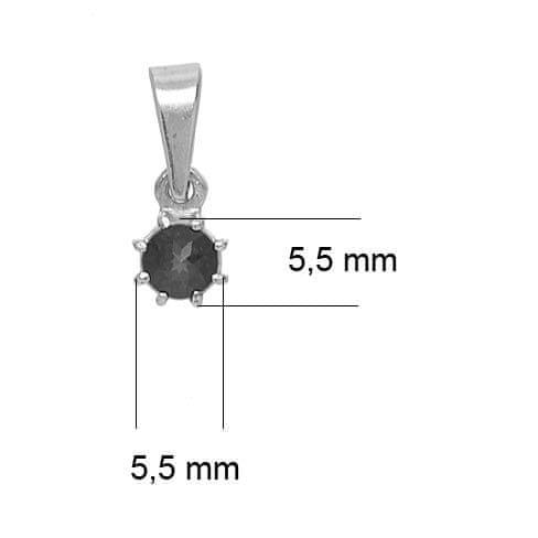 Granát, Turnov  - stříbrný přívěsek 6470922