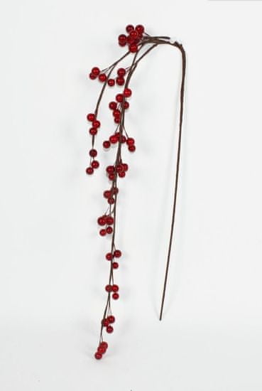 DUE ESSE Božična okrasna vejica navadne jagode, 90 cm