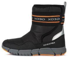 Geox chlapecká kotníčková obuv Flexyper J049XC 0FU50 C0038 31 černá