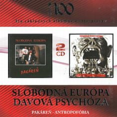 Slobodná Európa / Davová psychóza: Pakáreň / Antropofóbia (2x CD) - CD