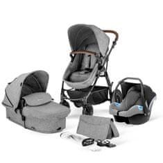 KinderKraft wózek 3in1 MOOV Grey melange 2020