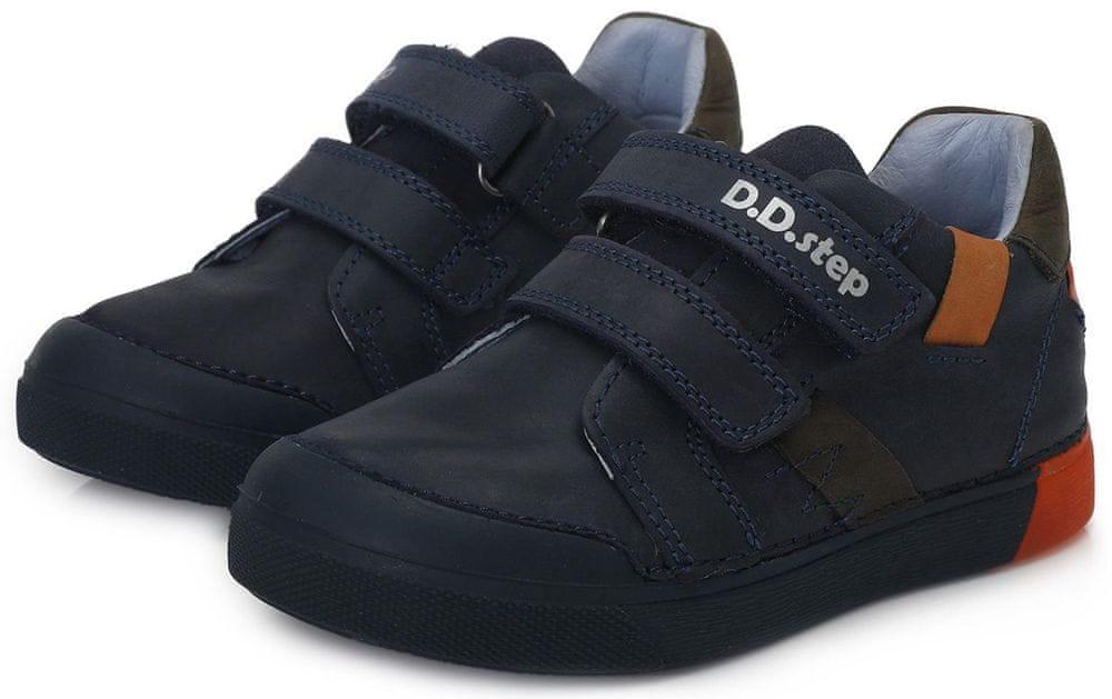 D-D-step chlapecká svítící obuv 068-738A 28 modrá