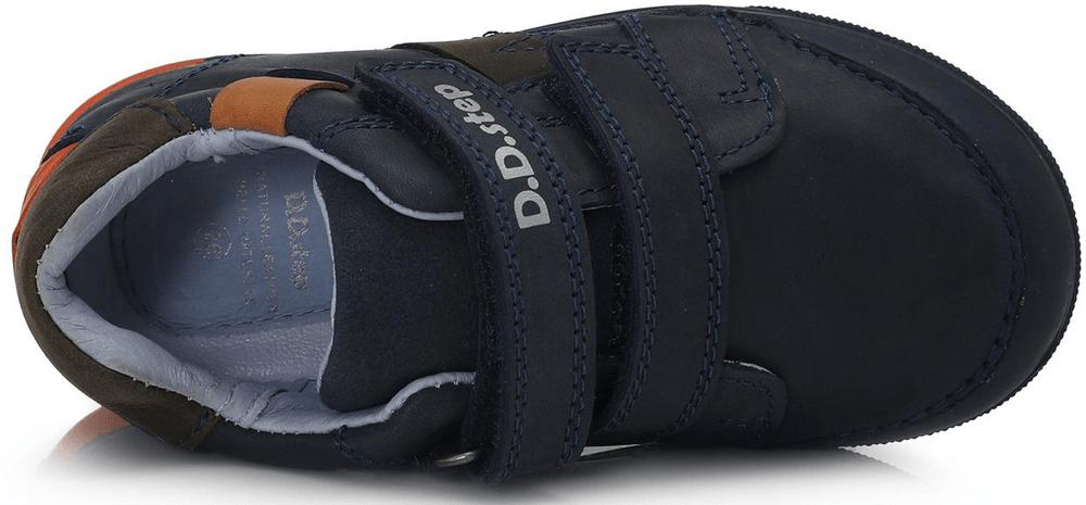 D-D-step chlapecká svítící obuv 068-738A 30 modrá