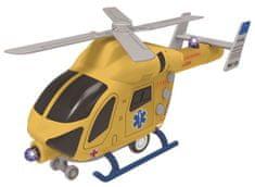 MaDe Záchranný vrtulník na setrvačník se světlem a zvukem