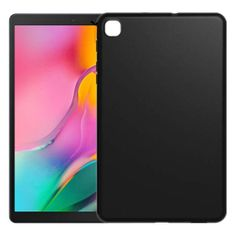 MG Slim Case Ultra Thin silikonski ovitek za Samsung Galaxy Tab A7 10.4'' 2020, črna