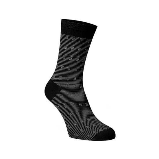 BENAMI Společenské ponožky Bruno Černá Bavlna 39-41