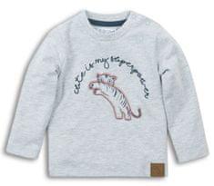 Dirkje chlapecké triko Tygřík 104 šedá