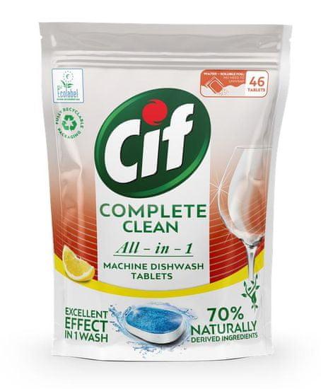 Cif tablety do myčky All-in-1 Citrus 46 tablet