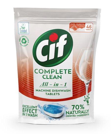 Cif tablety do myčky All-in-1 46 tablet