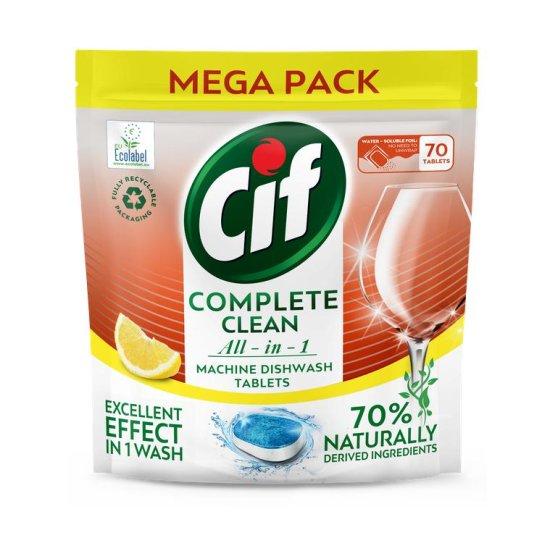 Cif tablety do myčky All-in-1 Citrus 70 tablet