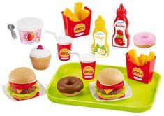 Ecoiffier kuhinjski komplet Fast food
