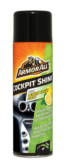 Armor All Fresh Shine Cockpit sprej za čiščenje armaturne plošče, vonj sveže limone