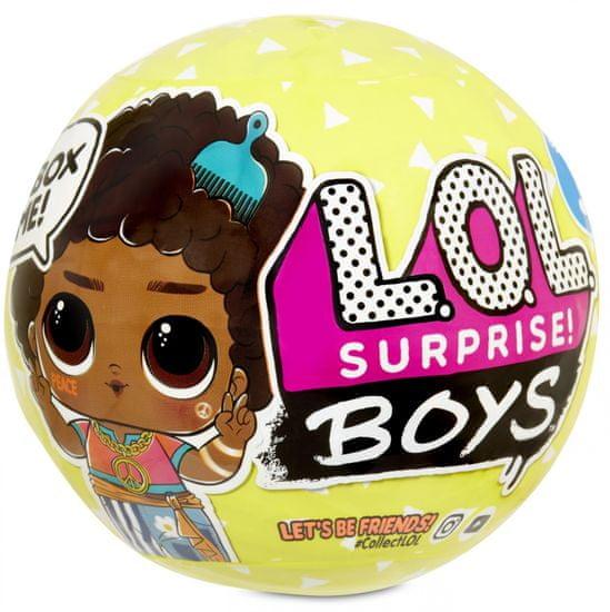L.O.L. Surprise! lalka - chłopiec, seria 3