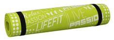 LIFEFIT Exkluziv podloga za vadbo, 100×60×1 cm, zelena