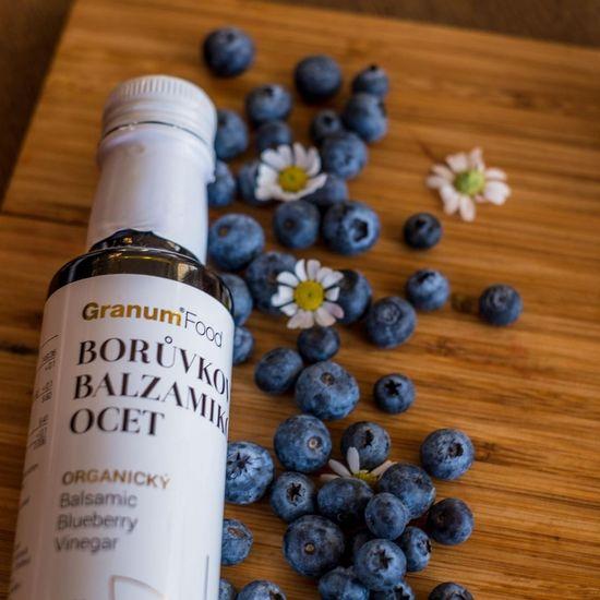 Granum organický borůvkový balzamikový ocet