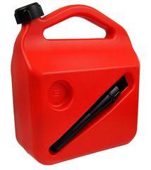 MAMMOOTH Kanystr plastový 5 l s větracím otvorem, červený