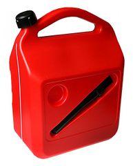 MAMMOOTH Kanystr plastový 20 l s větracím otvorem, červená