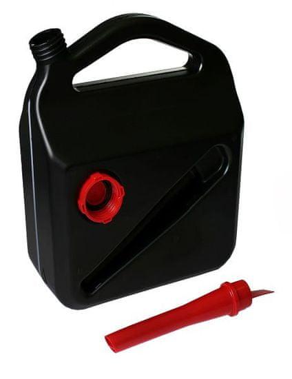 MAMMOOTH Kanystr plastový 10 l s větracím otvorem, černý