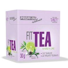 Prom-IN Fit Tea 30g - spalovač tuků - limetka