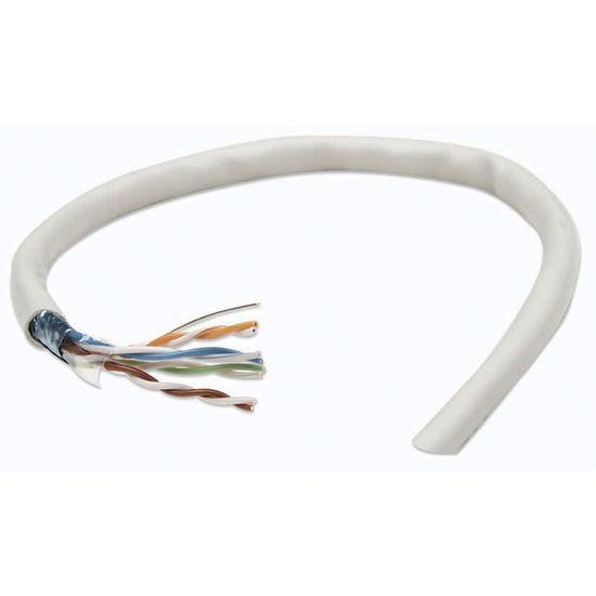 Intellinet CAT5e FTP inštalacijski kabel, mrežni, siv