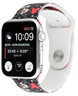 4wrist Szilikon szíj Apple Watch - Mickey Mouse 42/44 mm