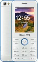MaxCom MM136, bílá/modrá