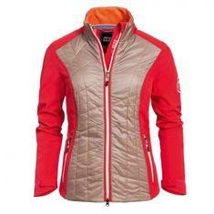 ELT Dámská jezdecká bunda Anya ELT Barva červená/písková, Velikost M