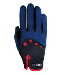 Roeckl Dětské jezdecké rukavice Toronto Roeckl modrá, Velikost 6
