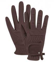 ELT Jezdecké rukavice Univerzální ELT hnědá, Velikost S