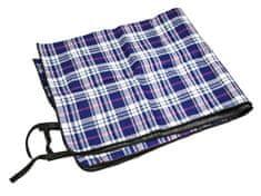 King Camp piknik deka 175 x 135 cm - modrá