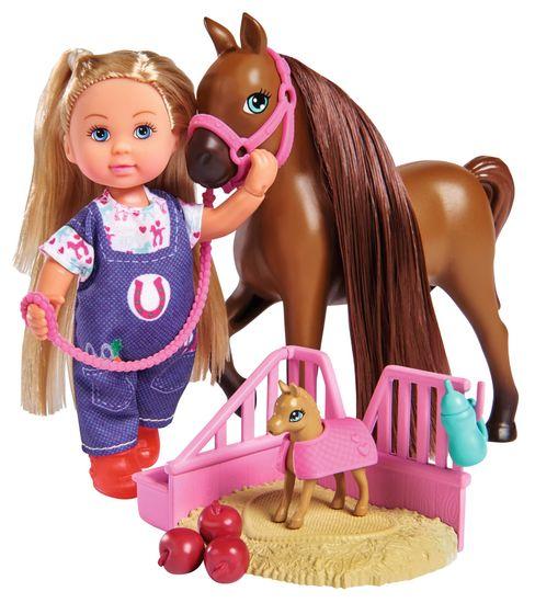 SIMBA Évike állatorvos baba Welcome Horse