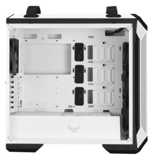 Asus TUF GAMING GT501 White Edition ohišje, RGB, belo