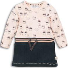 Dirkje dievčenské šaty s medvedíkmi, 56, viacfarebné
