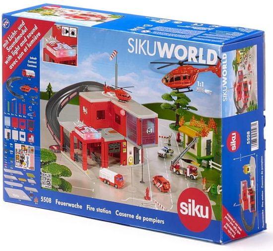 SIKU World 5508 Gasilska postaja