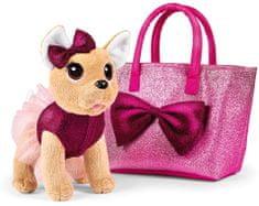 ChiChi Love Csivava kutyus Bow Fashion táskában