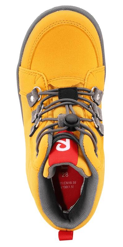 Reima dětská kotníčková obuv Wetter 33 žlutá