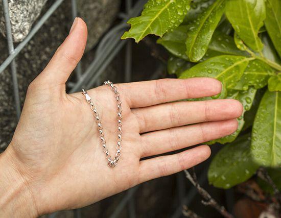 Beneto Elegantna srebrna zapestnica Anker AGB37