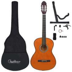 """shumee 12 darabos klasszikus gitár kezdőkészlet 4/4 39"""""""