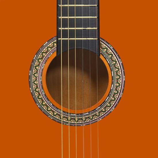 """shumee 4/4-es klasszikus gitár kezdőknek tokkal 39"""""""