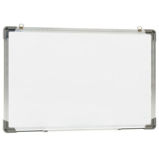 shumee Bílá magnetická tabule stíratelná za sucha 50 x 35 cm ocel