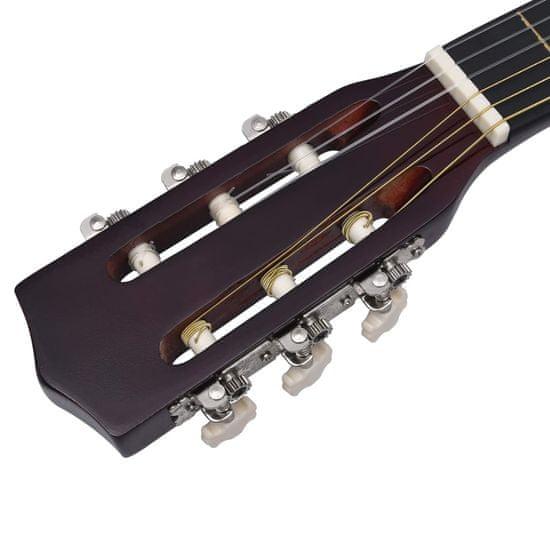 """shumee Klasična kitara za začetnike s torbo 3/4 36"""""""