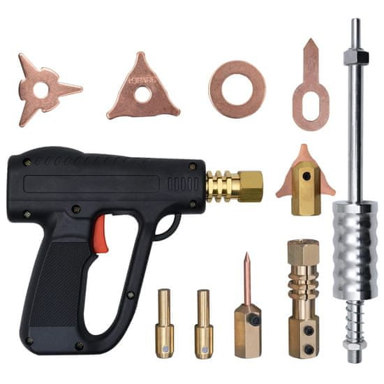 shumee 20-elementowy zestaw do usuwania wgnieceń z pistoletem