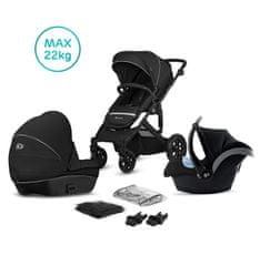 KinderKraft wózek Prime Lite black 3in1 2020
