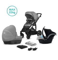 KinderKraft Prime Lite grey 3in1 2020
