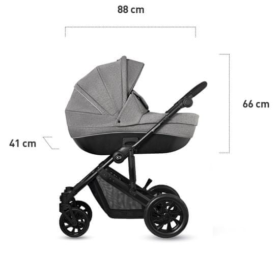 KinderKraft Prime Lite 3in1 otroški voziček