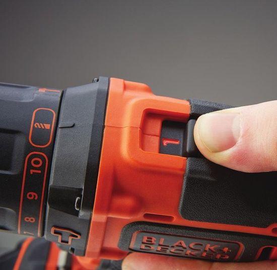 Black+Decker akumulatorski udarni vrtalnik BDCHD18KB
