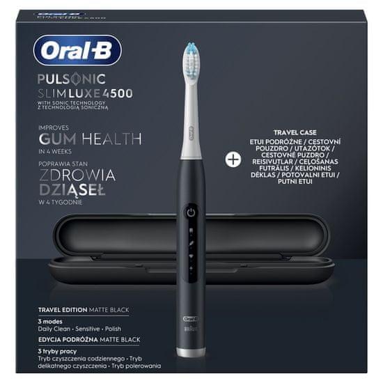 Oral-B szczoteczka soniczna Slim Luxe 4500 Matte Black
